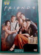 DVD Film Friends Le grandi serie Tv Sorrisi e Canzoni Stagione 6 Episodi 13-18