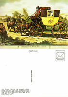 1973 BATH MAIL COACH NORMAL SIZED SWPR UNCODED MINT POSTCARD (a)