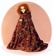 """Cloak Pattern 4 Bjd Msd, 14"""" Kish, Ellowyne, boys & girls Fits all Msd sizes"""