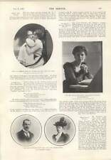 1901 Sylvia Edwardes Frederick And Lady Esther Smith Ethel Ross-selwicke