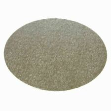 "Round Silver Double Thick Cake Boards 3mm Thick 4""-16"" - Pack of 1,5,10 & 25"
