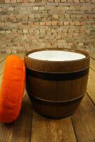 60er Hocker Bar Ottoman Vintage Design Pouf Faß Emsa Sitzhocker 70er