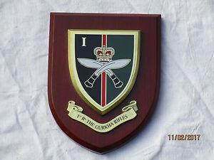 Wappen: 1st Battalion The Gurkhas Rifles
