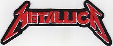 Aufnäher Bügelbild Iron on Patches Metallica Hard Rock Musik Band (a5e5)
