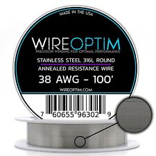 Ss 316l 38 Awg Stainless Steel Wire 316l 01007mm 100