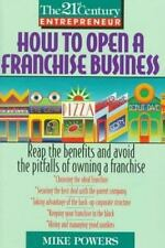 How to Open a Franchise Business (The 21st Century Entrepreneur)-ExLibrary