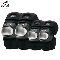 Cycling Knee Pads Elbow Brace Motorcycle Armour Guards Motocross Protective Gear