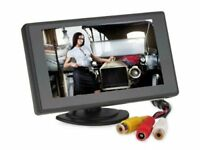 "4.3"" TFT LCD Reversing HD Color Monitor Car RearView Backup Parking Camera Kits"