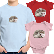 Cute Hedgehog Toddler Kids Tee Shirt Infant Baby Bodysuit Romper Clothes Hedgie
