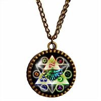 The Legend Of Zelda Triforce Necklace Pendant Jewelry Cosplay Element symbol