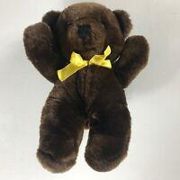 "Ring Around The Rosie Plush Dakin Bear VTG 1984 Stuffed 11"" Musical Teddy 80s"