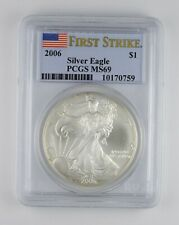MS69 2006 American Silver Eagle - First Strike - Graded PCGS *101