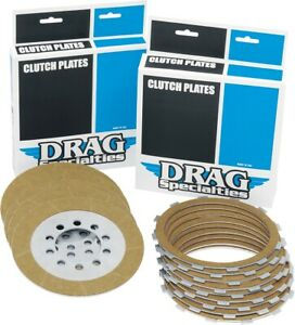 Drag Specialties Friction Clutch Plate Kit (9 Plates) for Big Twin 98-14