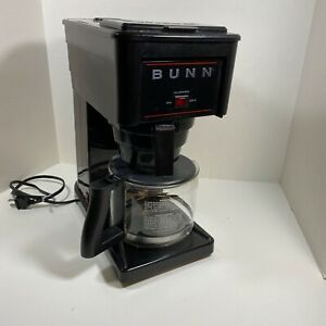 BUNN Commercial Style Home Coffee Maker GR10-B Fast Brew 10-Cup Black