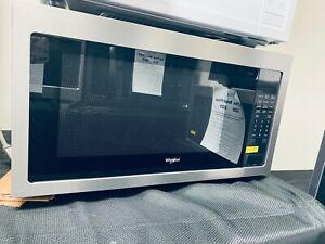 Whirlpool 2.2-cu ft 1200 Countertop Microwave (Fingerprint Resistant Stainless)