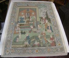 Finemente eseguito all'inizio 20TH Secolo Antico INDIANO DIPINTO Udaipur, India c1930S