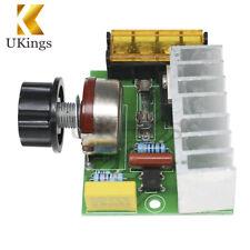 4000W AC 220V SCR Voltage Regulator Speed Controller Dimmer Thermostat