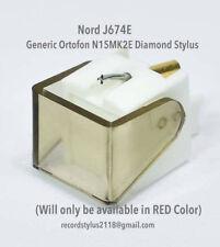 ORTOFON+M15E+J674E+Diamond Stylus+N15E+Generic Nord