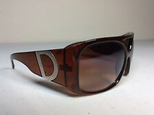 Womans DG Dolce Gabbana 4018 Sunglasses Brown Root Beer
