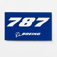 Boeing 787 blue Aufkleber Boeing Sticker original Boeing Merchandise NEU 10x5,5
