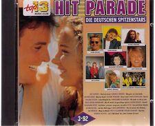 HIT PARADE- Die deutschen Spitzenstars - CD-Album 16 Tracks