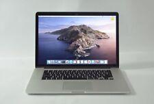 "Apple MacBook Pro A1398 (15"", Mid-2015) DG Intel i7-4870HQ @ 2.5GHz 16 GB RAM OS"