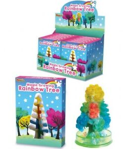 Magic Growing Rainbow Tree Creative Novelty Decoration Toy Party Stocking Filler