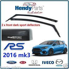 ¡ Nuevo! Original Ford Focus Rs 2016 Mk3 climair Viento Aire desviadores de tinte Oscuro