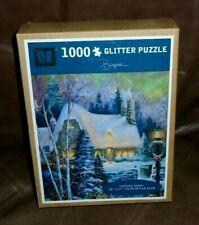 "AB Glitter Puzzle ""Coming Home"" By Sandra Bergeron #2325 1000 pc - New"