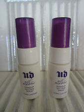 URBAN DECAY ALL NIGHTER MAKEUP SETTING SPRAY 0.5 OZ EACH LOT OF 2 INV#G45KC