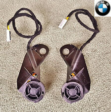 2x 8Ω OEM BMW 5 Series E39 95-03 Front Door DSP Standard Hi-Fi Tweeter Speaker