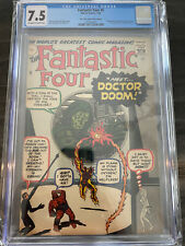 Fantastic Four 5 CGC 7.5 / 1st Dr. Doom / Moving Coming Soon!