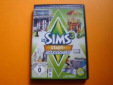 Die Sims 3: Stadt-Accessoires (PC/Mac, 2011, DVD-Box)