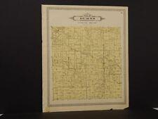 Michigan Shiawassee County Map Burns Township 1895 !J8#93