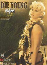 Kesha  Die Young     US Sheet Music