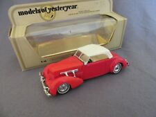 290G Matchbox Yesteryear Y-18 Cord 812 1937