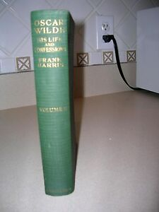 Oscar Wilde His Life and Confessions By Frank Harris 1916 1st Edition w/ B. Shaw