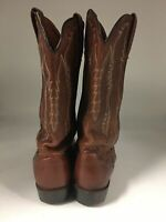 Men's Ariat ATS Brown Leather Boots Size 10 D