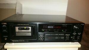 AIWA AD- F 880 Z 3KOPF KASSETTENDECK Tapedeck Cassette High-End