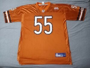 55 Lance Briggs Chicago Bears Super Bowl Reebok Jersey Sz XL