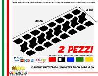 2 ADESIVO PNEUMATICO BATTISTRADA 4X4 ENDURO FUORISTRADA RUOTA JEEP DECORAZIONE