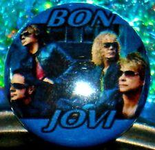 Button & FREE Jon BON JOVI Richie Sambora Solo Music Video Collection 4 DVD Set