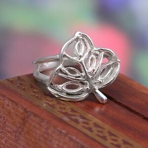 Sterling Silver Mount Ring Stone Setting Size 6X3mm (2p.),5X2.5mm (3p.) Marquise