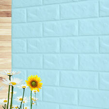 3D Embossed Brick PE Foam Wall Stickers DIY Wall Papers Home Room Decoration