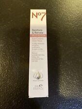 New No7 Restore & Renew Multi Action Eye Cream - 0.5oz Tube Free Shipping