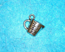 Pendant Cooking Charm Measuring Cup Charm Baking Cupcakes Charm Chef Charm Food