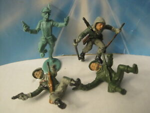 ATLANTIC CANE ALPINE MOUNTAIN TROOPS GERMAN ITALY 60MM 1:32 PLASTIC TOY SOLDIERS