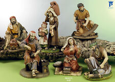 Set 6 personaggi Presepe 22 cm, in resina by Paben