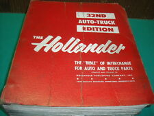 BUICK CADILLAC CHEVROLET MERCURY OLDSMOBILE ETC MANUEL AUTO THE HOLLANDER 1966