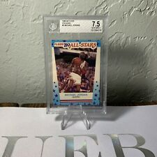 1989-90 Fleer All-Stars Michael Jordan BGS 7.5